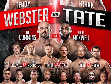 Toe The Line Fight Series launches this weekend on the Bare Knuckle TV streaming service