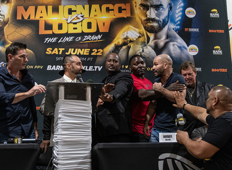 """""""BKFC 6 - The Line is Drawn"""" - Final Press Conference Quotes, Photos & Video"""