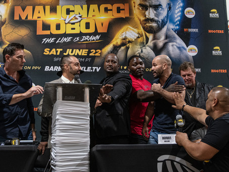 """BKFC 6 - The Line is Drawn"" - Final Press Conference Quotes, Photos & Video"