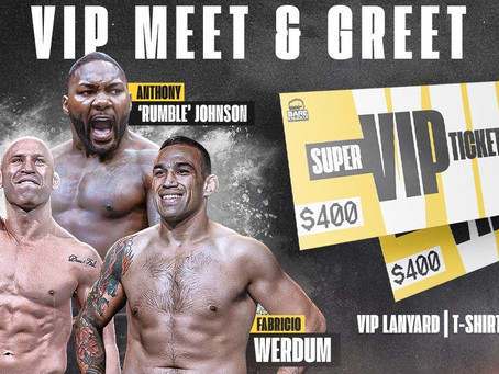 Special guests for BKFC 8 to include MMA legends Wanderlei Silva, Fabricio Werdum, & Anthony Johnson