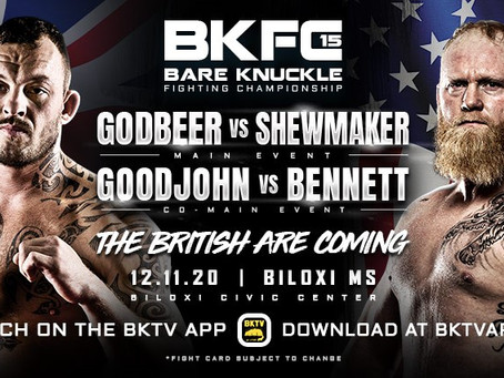 The British Are Coming – BKFC 15 brings England's stars to Biloxi