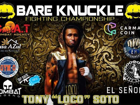 """Tony """"Loco"""" Soto returns to roots of Brooklyn, New York for bare knuckle debut at BKFC 19"""