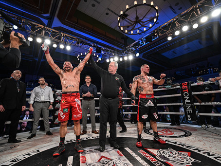 BKFC 16 results - Leonard Garcia retires on top with decision win over Joe Elmore