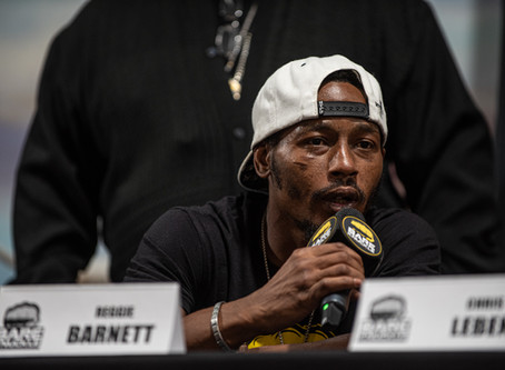 "Reggie Barnett Jr: ""I need to get back to the Reggie of BKFC 1.... a raging lunatic"""
