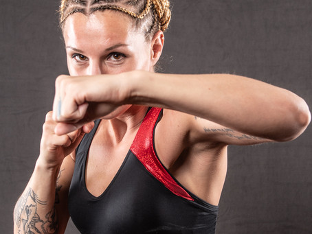 Britain Hart talks competing through COVID, BKFC 14 opponent in Randine Eckholm, more