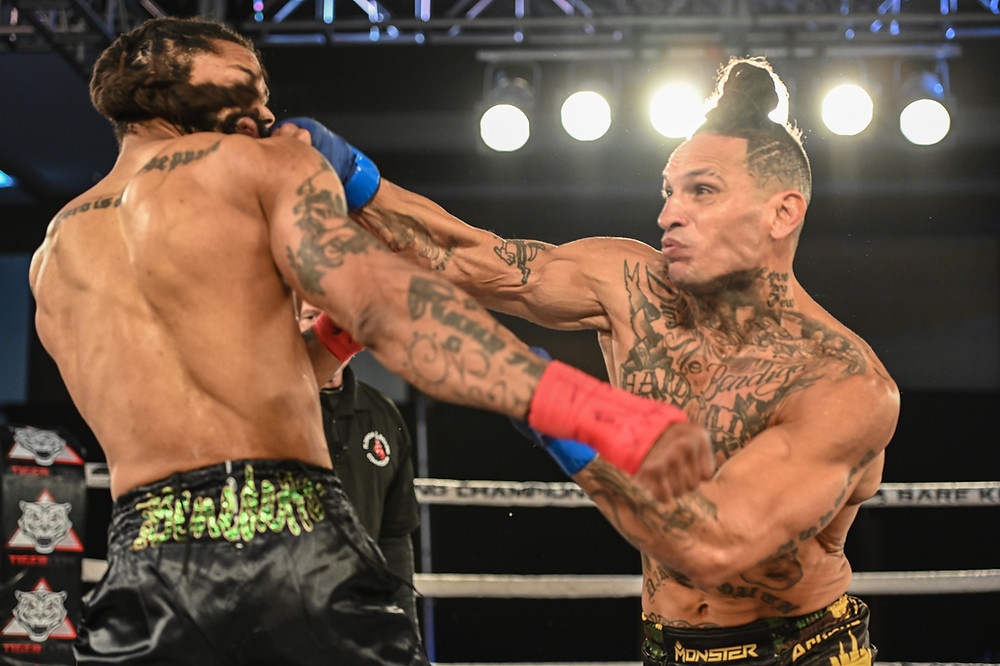 Uly Diaz records the fastest knockout in combat sports history (3-seconds) - Photo by Phil Lambert for Bare Knuckle Fighting Championship