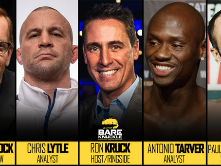 Bare Knuckle FC 5 commentating team announced - Tarver, Lytle, Kruck & Wheelock, plus Malignaggi