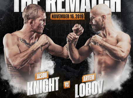 Artem Lobov-Jason Knight 2 Set For BKFC 9 on November 16th