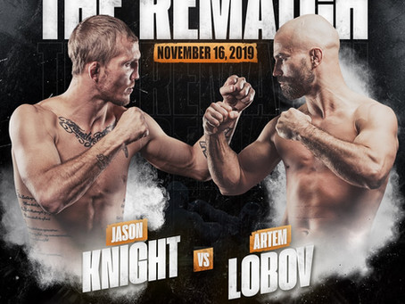 Artem Lobov-Jason Knight 2 Set For BKFC 9 on November 16th