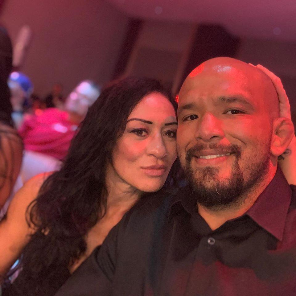 Maia Kahunaele and Joey Beltran