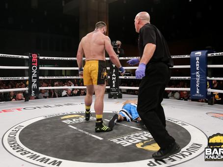 "Chris ""Golden Gloves"" Sarro talks massive first round BKFC 9 knockout victory"