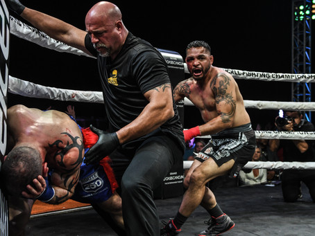"""Leonard Garcia on Joe Elmore:  """"This is one of those fights that shortens your life a little bit"""""""