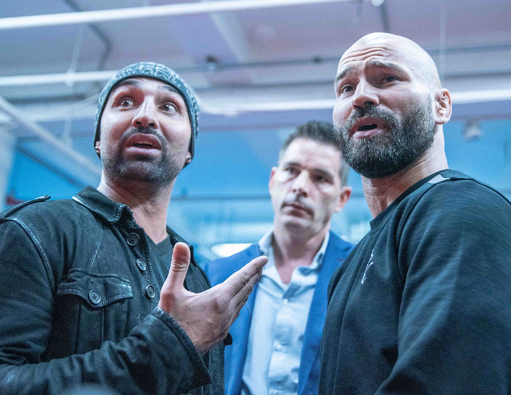 Photo by Wojtek Kubik - Paul Malignaggi (left) and Artem Lobov (right)