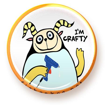 Crafty - magnet