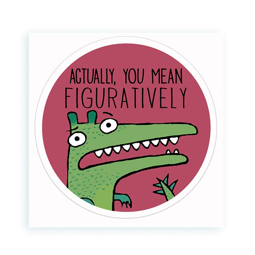 Figuratively - sticker