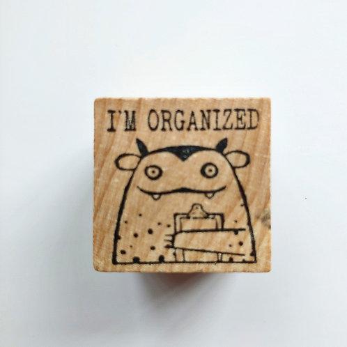 Organized - stamp