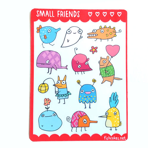 Small Friends - red