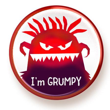 Grumpy - magnet