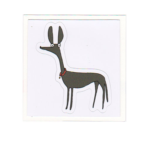 Greyhound - sticker