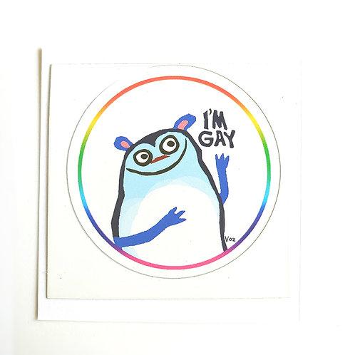 Gay - sticker
