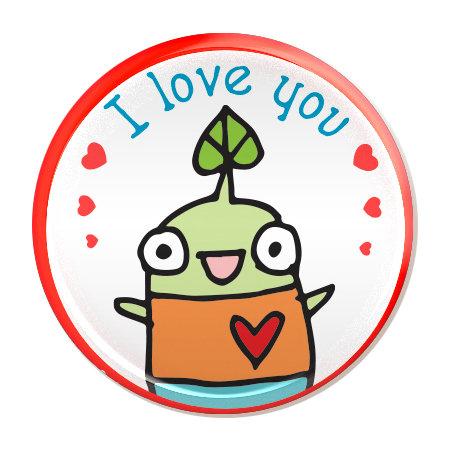 I Love You - magnet