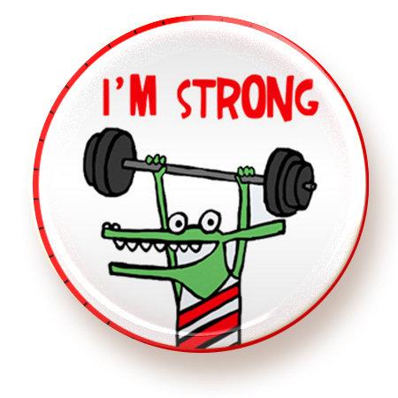 Strong - button