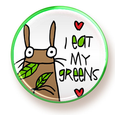 Greens - button