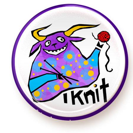 Knit - magnet