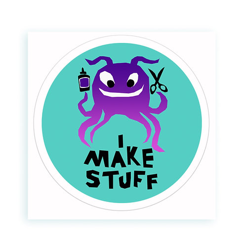 Make Stuff - sticker