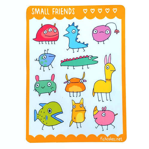 Small Friends - yellow