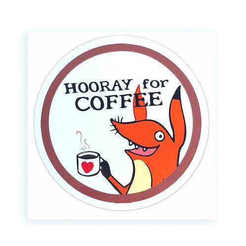 Coffee - sticker