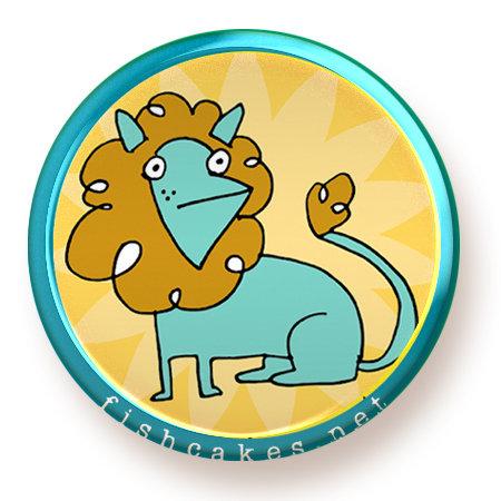 Lion - magnet