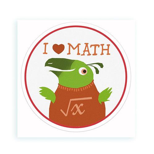 Math - sticker