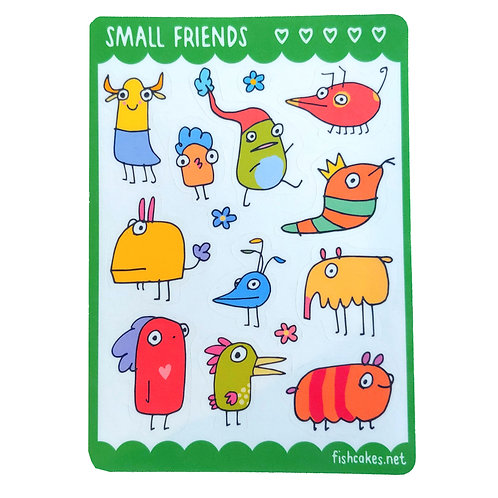 Small Friends - green