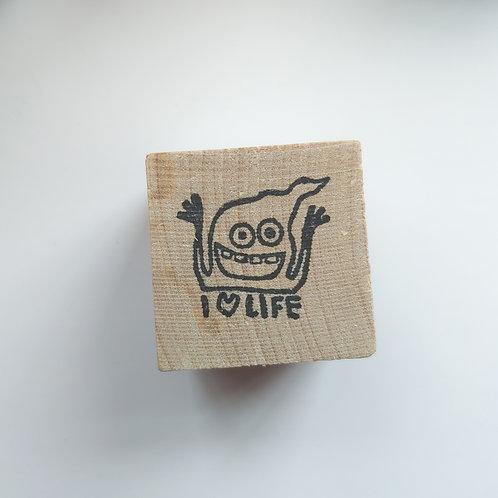 Love Life - stamp