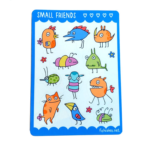 Small Friends - blue