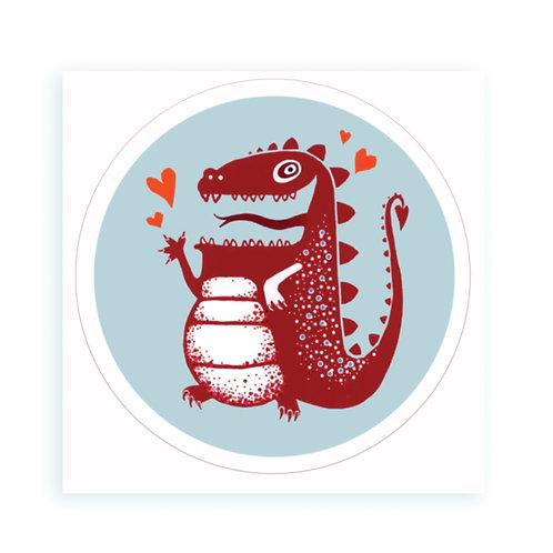 Dragon - sticker