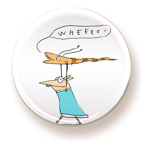 Wheee! - magnet