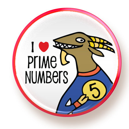 Prime Numbers - magnet