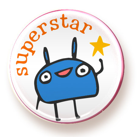 Superstar - magnet
