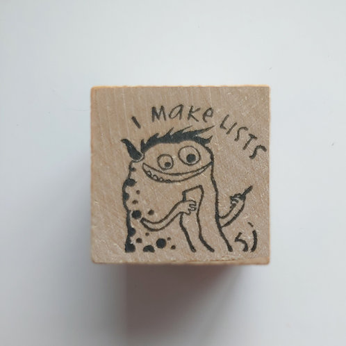 Lists - stamp