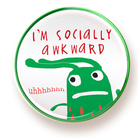 Socially Awkward - magnet