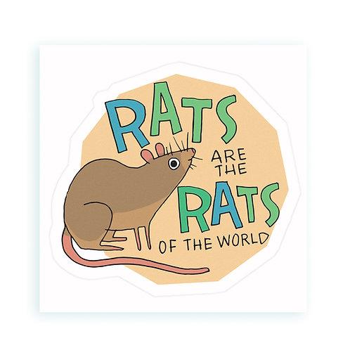 Rats - sticker
