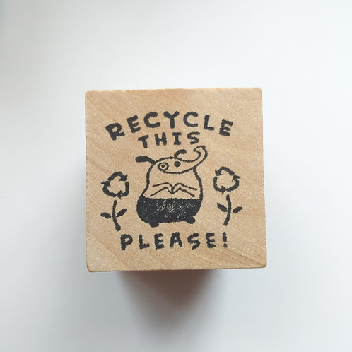 Recycle - stamp