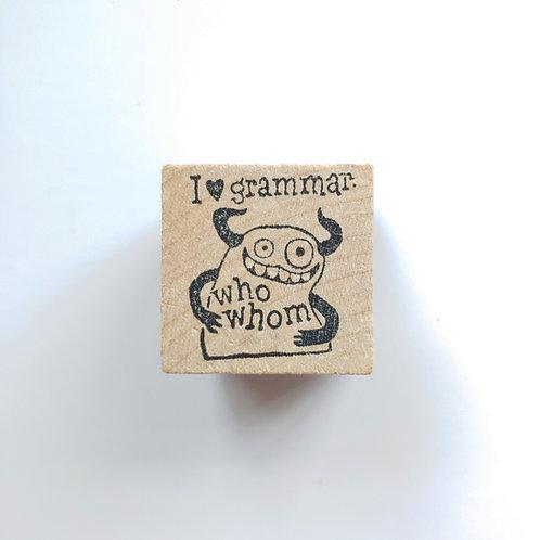 Grammar - stamp