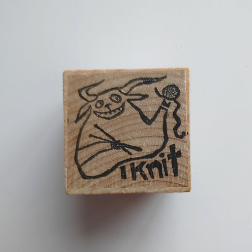 Knit - stamp
