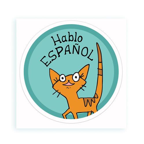 Espanol - sticker