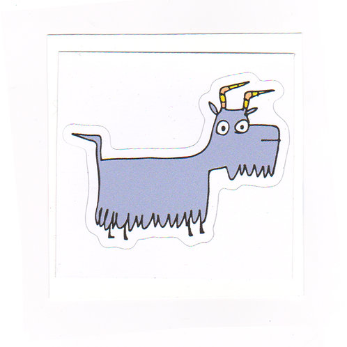 Goat - sticker
