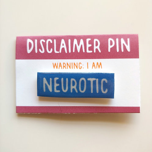 Disclaimer: Neurotic