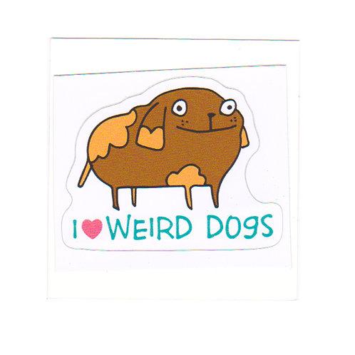Weird Dogs - sticker